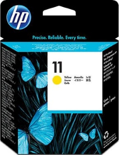Печатающая головка C4813A (№11) yellow (желтая) для струйных принтеров HP Business InkJet 1000, 2200, 2300, 2600, 2800, CP1700, DesignJet 70, 100, 500, 800, 10ps, 20ps, 50ps, 100plus, 500plus, 800ps, DJC CC800ps, OJ 9110, OJ Pro K850, K850dn, произв. HP фото