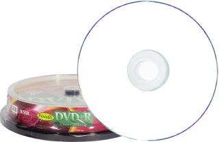 Диск DVD+R, 8.5Гб, Double Layer, Printable, Cake box, 10шт, 8х, VS (цена за 1 штуку) фото