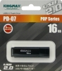 Флешка (Flash-drive) USB 2.0, 16Гб, Kingmax U-Drive PD07, 20/10Мб/с, пластик, черная фото