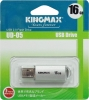 Флешка (Flash-drive) USB 2.0, 16Гб, Kingmax UD-05, 10/5Мб/с, металл, серебристая фото
