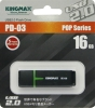 Флешка (Flash-drive) USB 2.0, 16Гб, Kingmax U-Drive PD03, 10/3Мб/с, пластик, черная фото