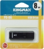 Флешка (Flash-drive) USB 2.0, 8Гб, Kingmax U-Drive PD06, 10/3 Мб/с, пластик, черная фото