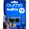 Флешка (Flash-drive) USB 2.0, 16Гб, Qumo RoadDrive, 20/4мб/сек, пластик, черная фото