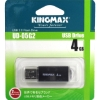 Флешка (Flash-drive) USB 2.0, 4Гб, Kingmax UD-05, 10/5Мб/с, металл, черная фото