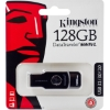 Флешка (Flash-drive) USB 3.1, 128Гб, Kingston SWIVL, 100/20 Мб/с, пластик, черная фото
