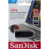 Флешка (Flash-drive) USB 3.0, 16Гб, SanDisk Ultra, 100/20Мб/с, пластик, черная фото